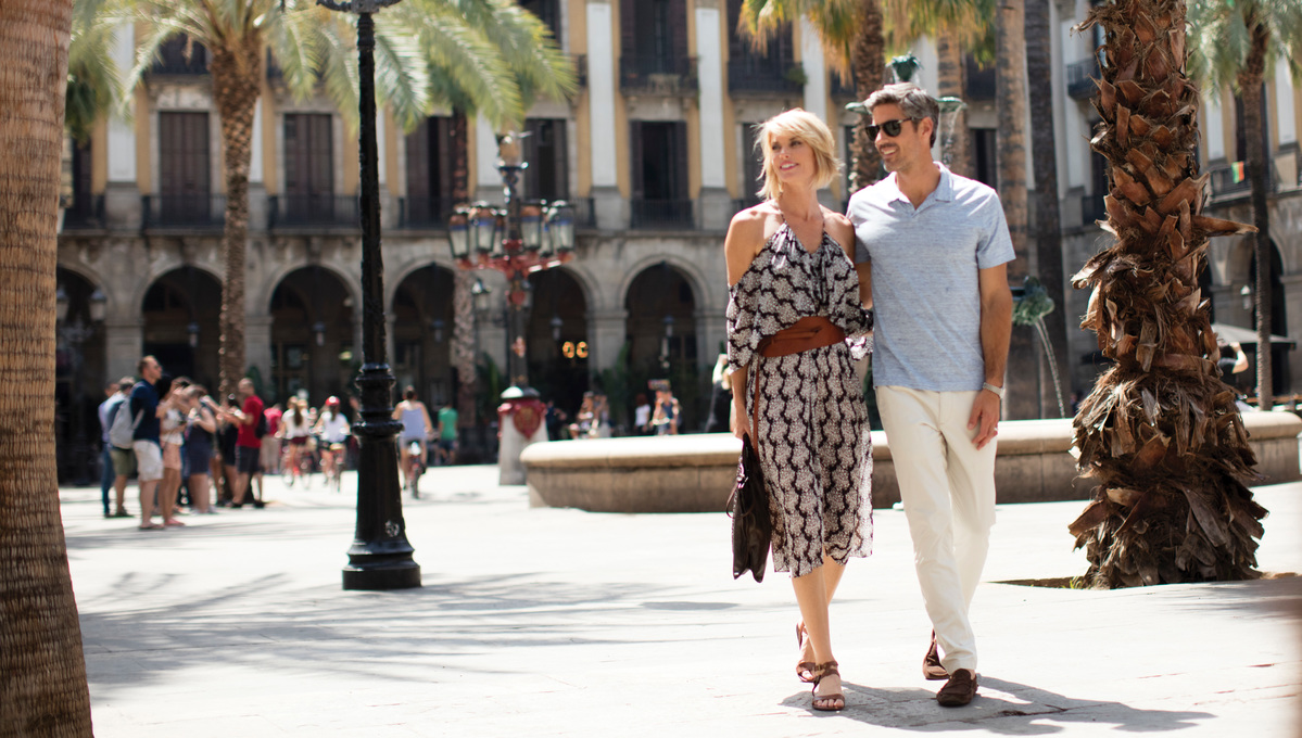 Guests on a Regent Seven Seas Cruises Go Local  excursion in Barcelona
