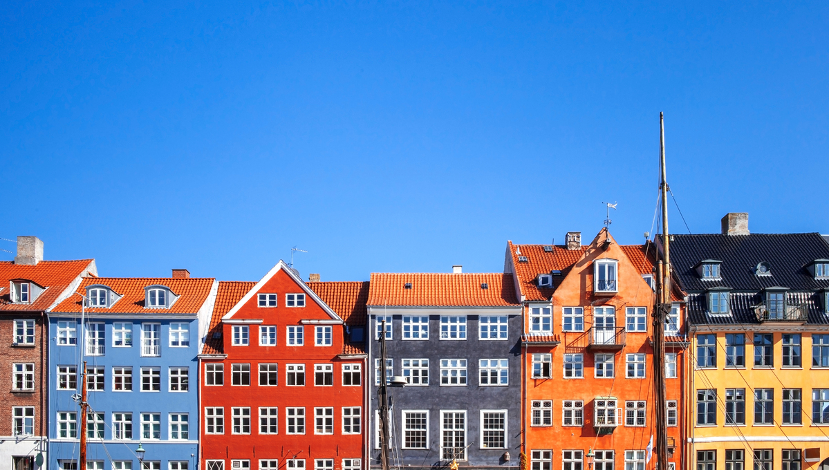 Houses in Copenhagen, one of the highlights of a Baltic cruise