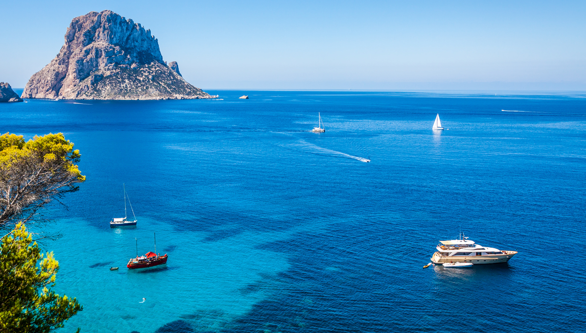 Ibiza, a popular stop on Western Mediterranean cruises