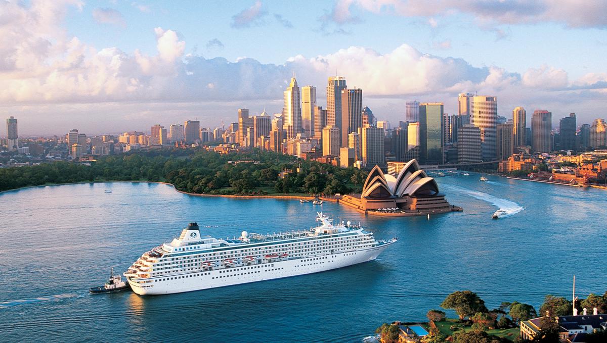 Crystal Symphony in Sydney