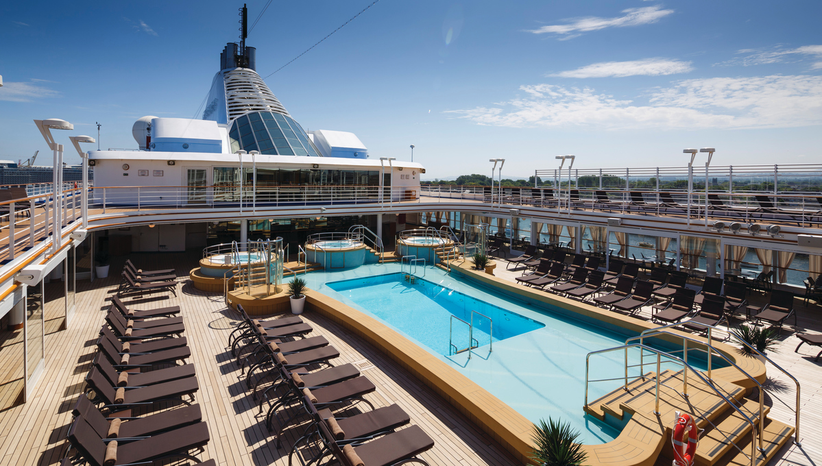 Silversea - Silver Spirit pool