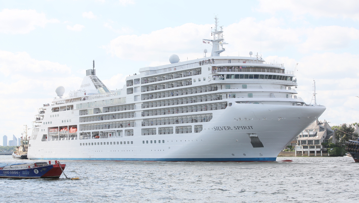 Silversea - Silver Spirit in London