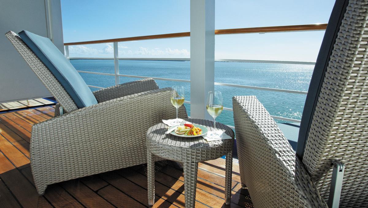 Regent Seven Seas Navigator - Master or Grand Suite balcony