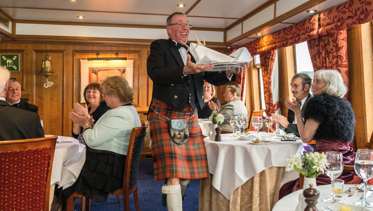 David Indge, Hebridean Island Cruises