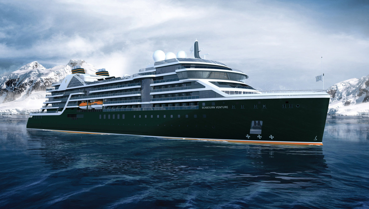 Seabourn Venture, one of the many exciting new ships on order