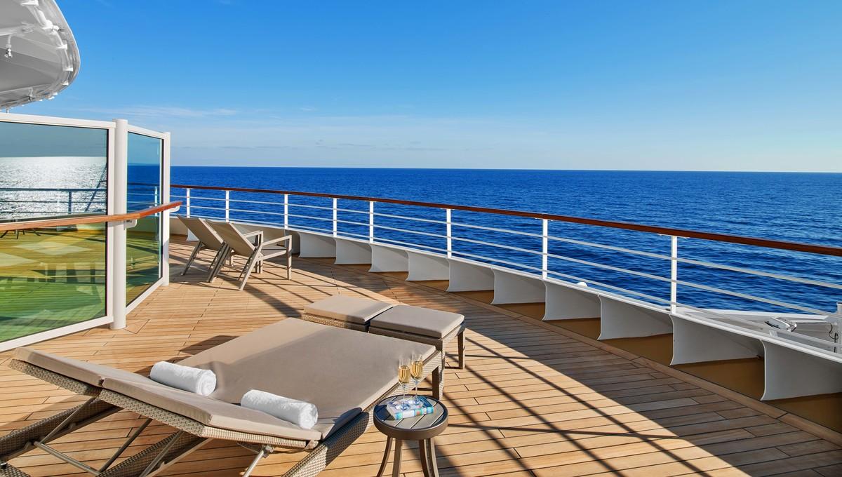 Seabourn Encore - Signature Suite sun deck