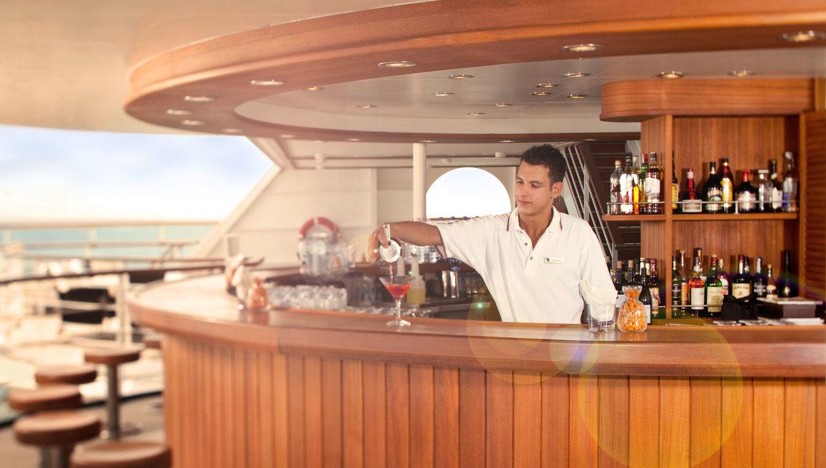 Seabourn Odyssey, Sojourn & Quest - Sky Bar