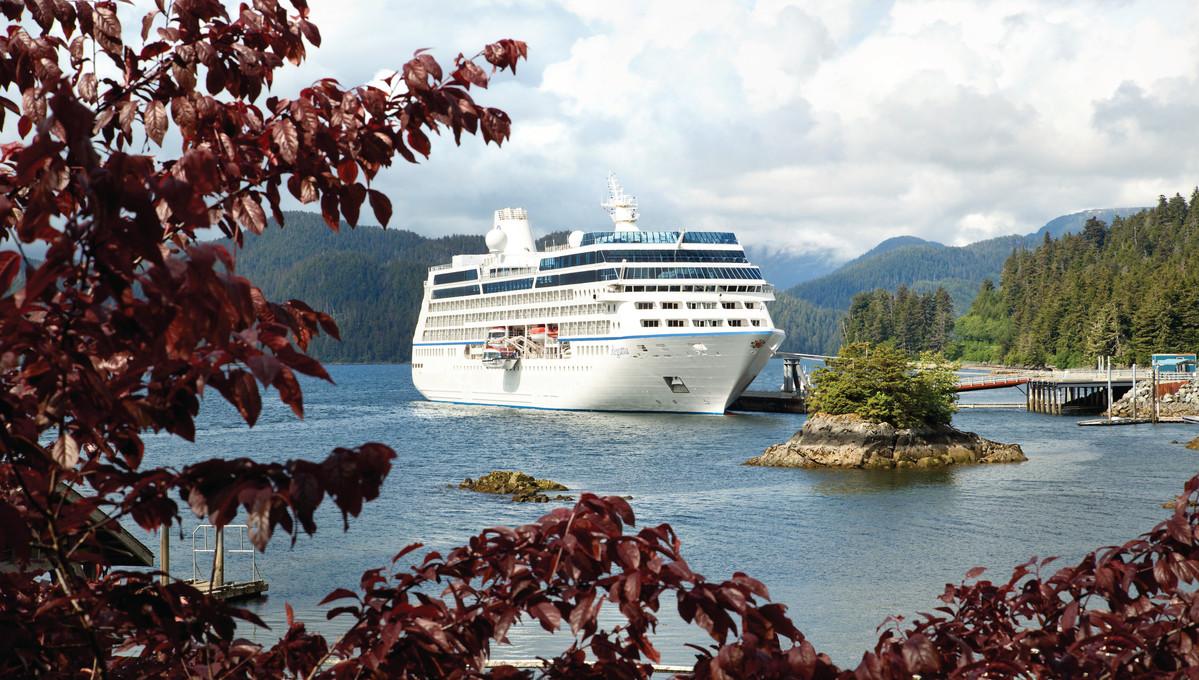 Oceania Regatta in Alaska