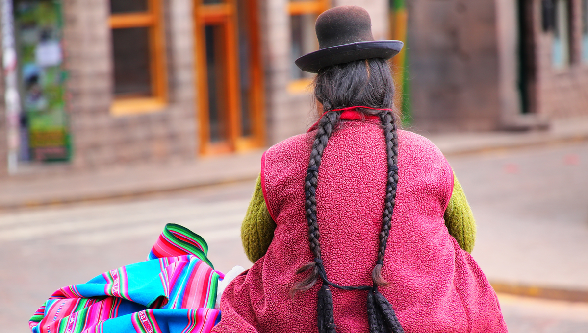 South America expedition cruises - Indigenous woman in Peru