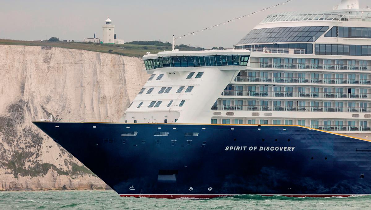 Saga - Spirit of Discovery in Dover
