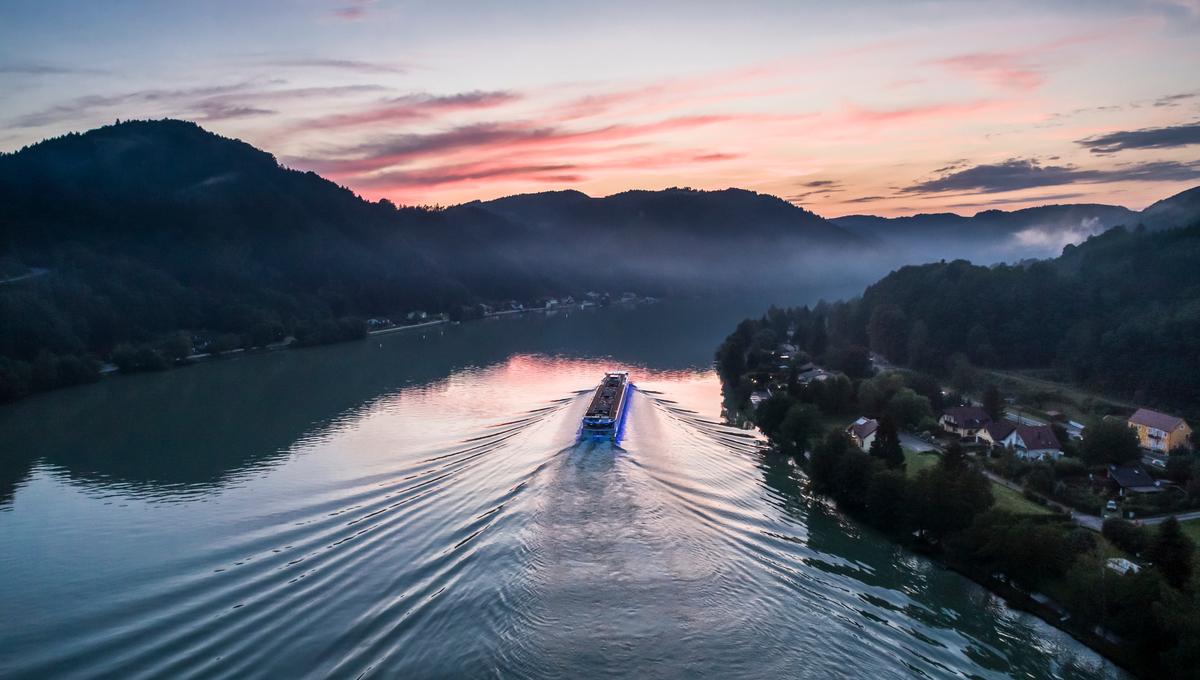 European river cruises - Uniworld SS Beatrice on the Danube