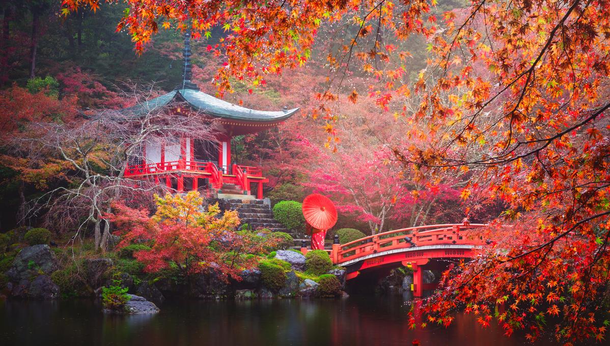 Far East cruises - Daigo-ji temple in Kyoto, Japan