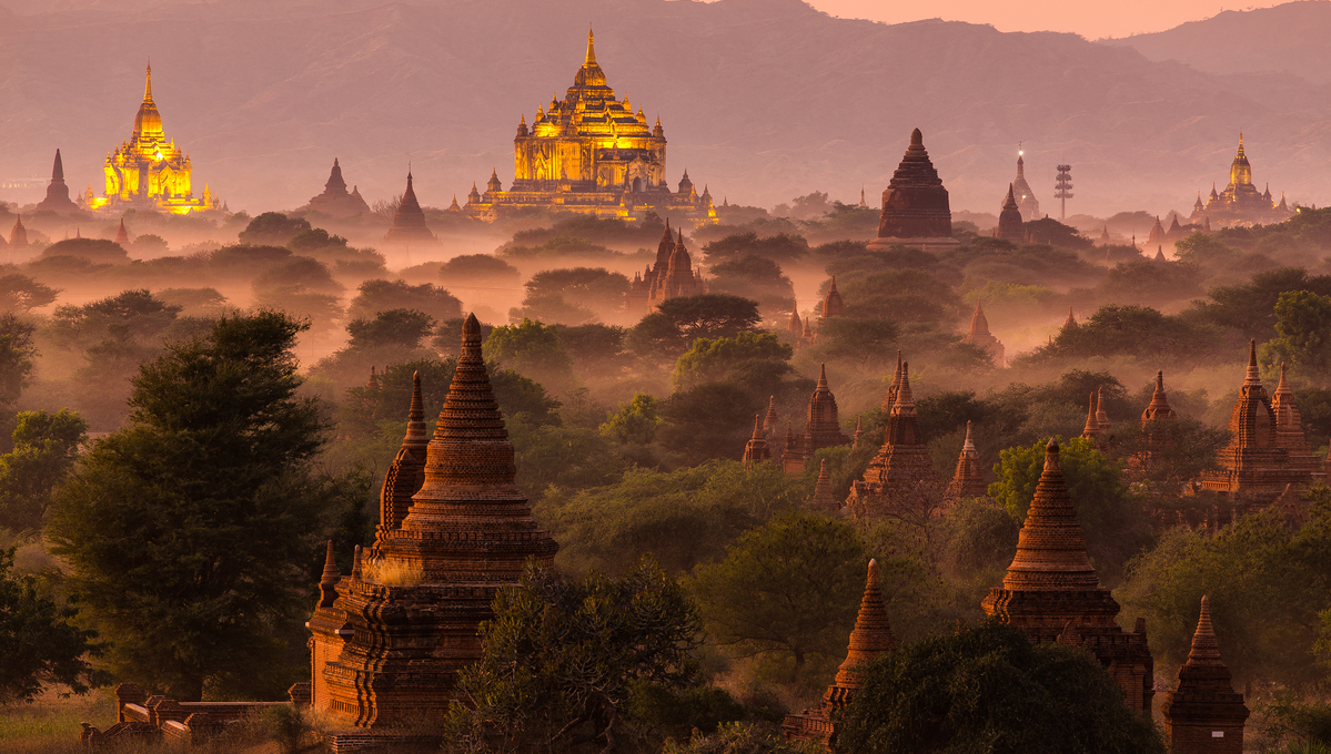 Myanmar & Ayeyarwady river expedition cruises - Temples of Bagan