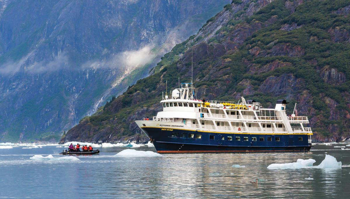 Lindblad Expeditions in Alaska, one of several cruise options to choose from