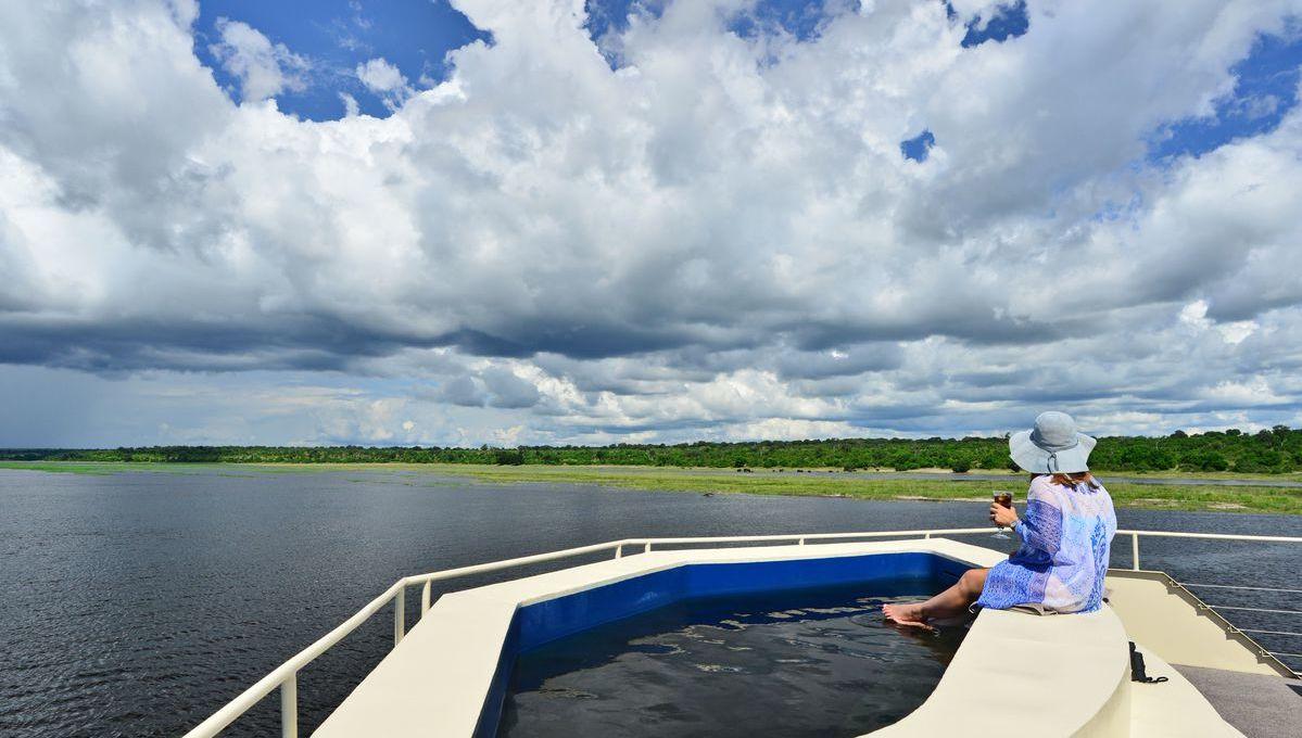Zambezi Queen - Pool