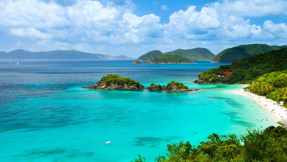 Caribbean cruise to St John, US Virgin Islands