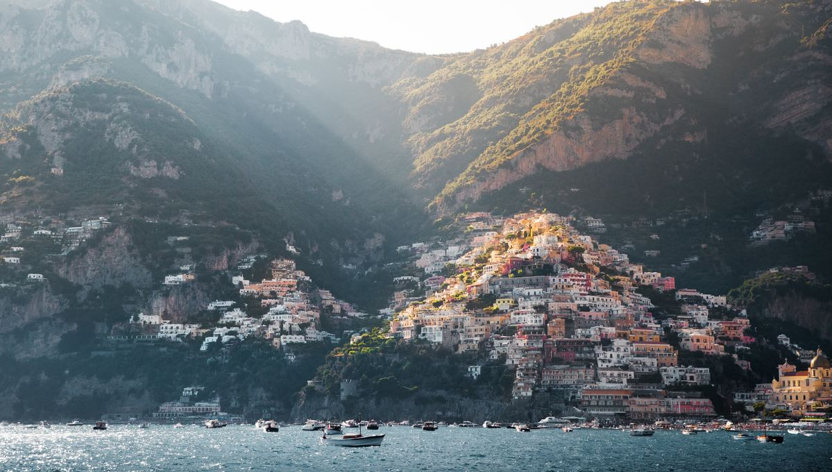 Summer cruises visit destinations including Positano