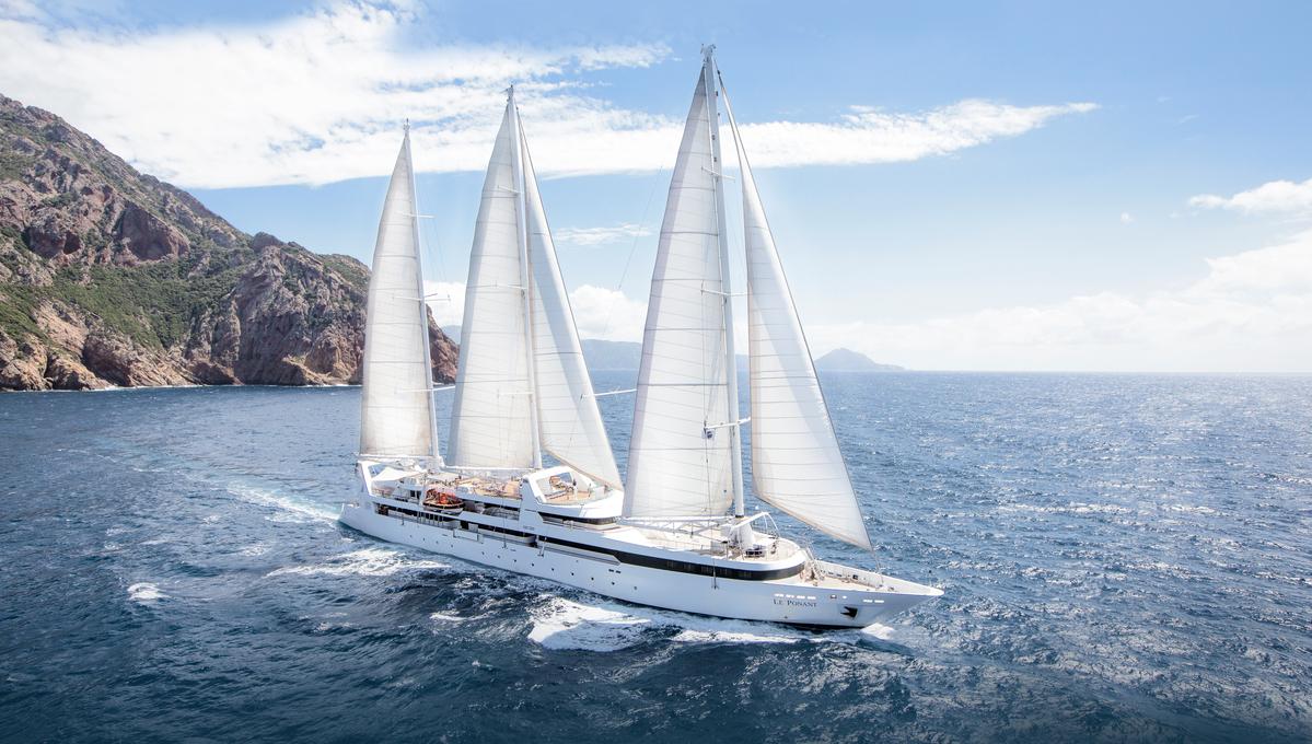 Le Ponant sailing ship