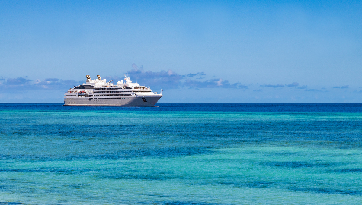Ponant - Le Lyrial in the Seychelles