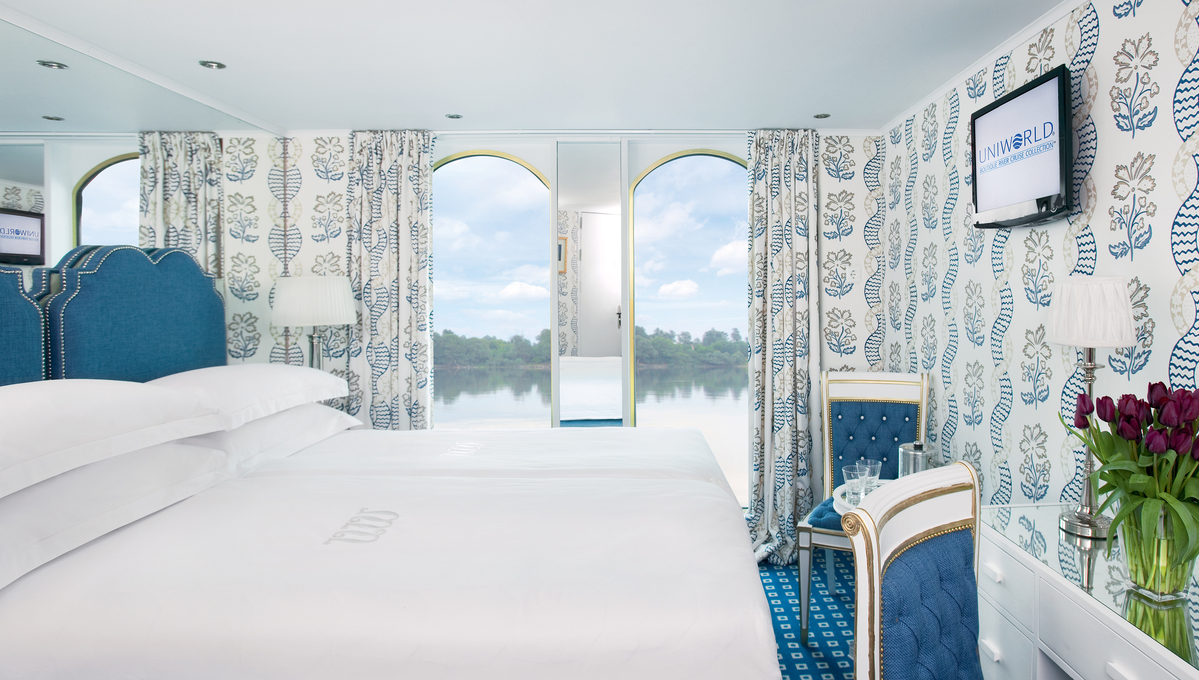 Uniworld River Queen - French Balcony Stateroom