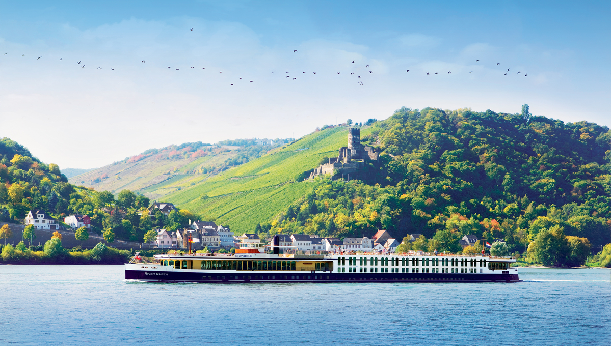 Uniworld - River Queen on the Rhine