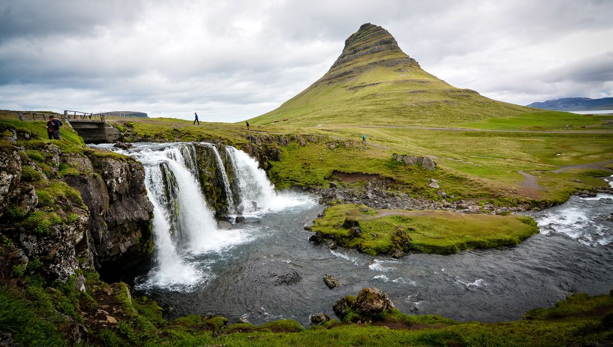 Visit Kirkjufell with one of the best small ship cruises to Iceland