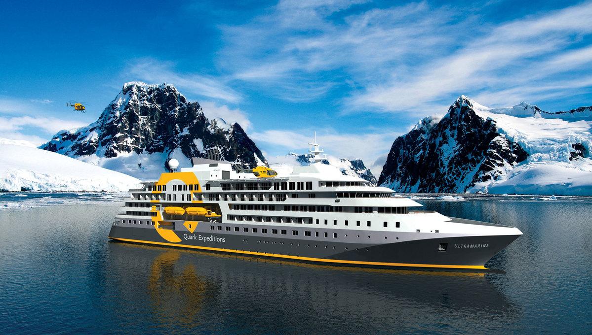 Quark Expeditions - Ultramarine in Antarctica