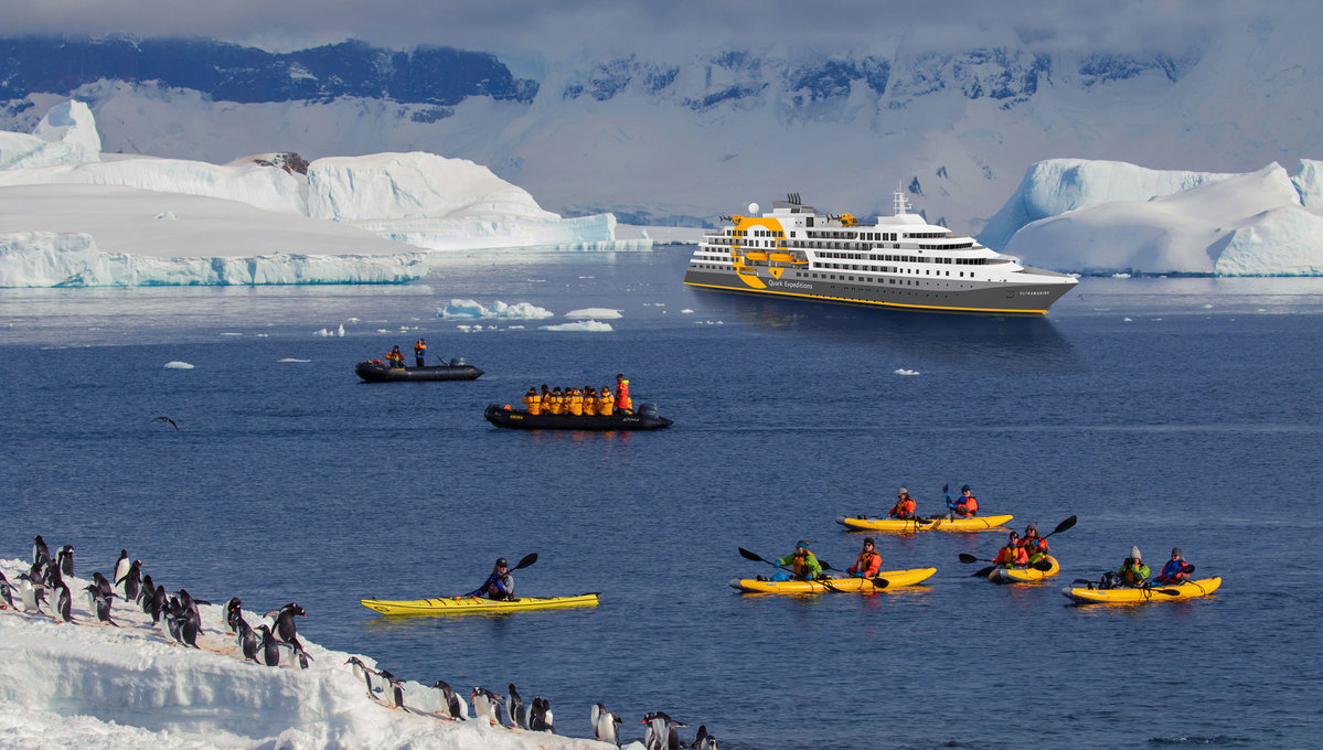 Quark Expeditions - Ultramarine - Kayaking