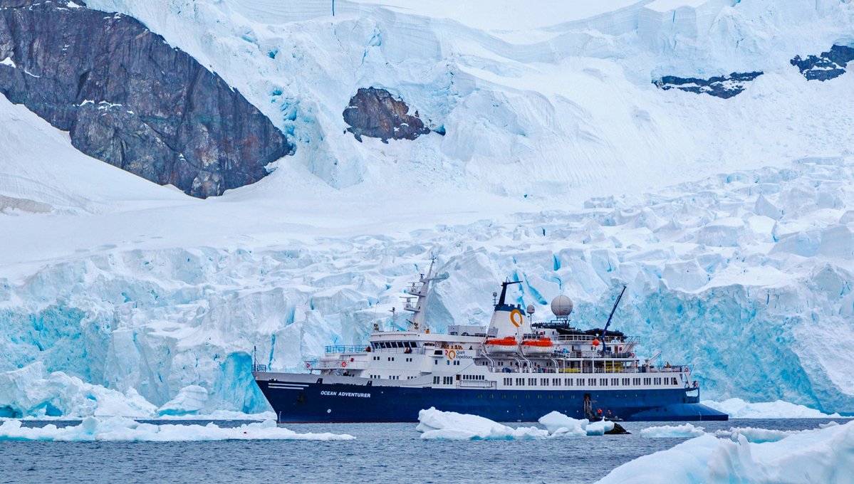 Quark Expeditions - Ocean Adventurer in Antarctica