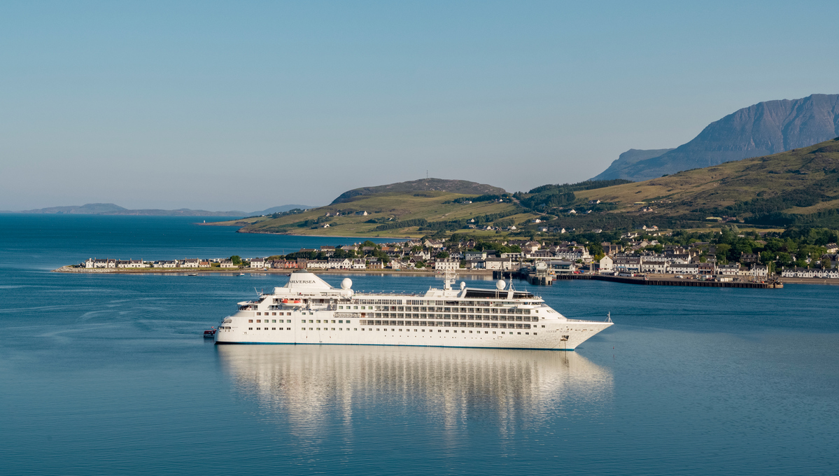 Silversea Expeditions - Silver Wind in Ullapool, Scotland