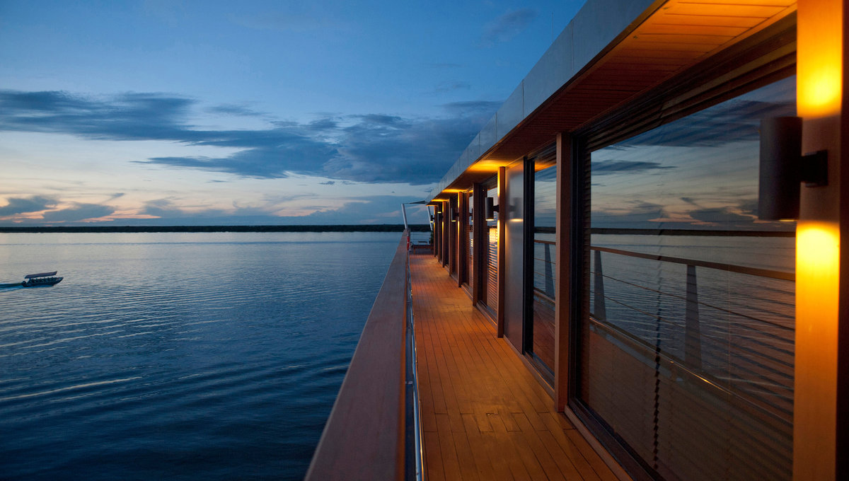 Aqua Expeditions - Aqua Mekong Observation Deck