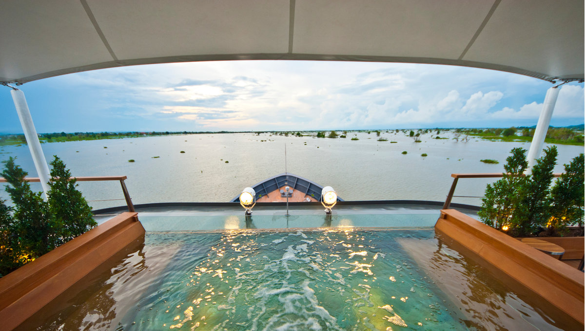 Aqua Expeditions - Aqua Mekong - Plunge pool
