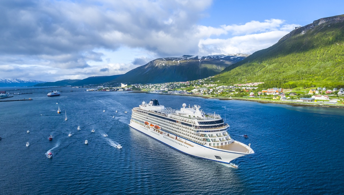 Viking Ocean Cruises - Viking Sky new ship launch in Tromso