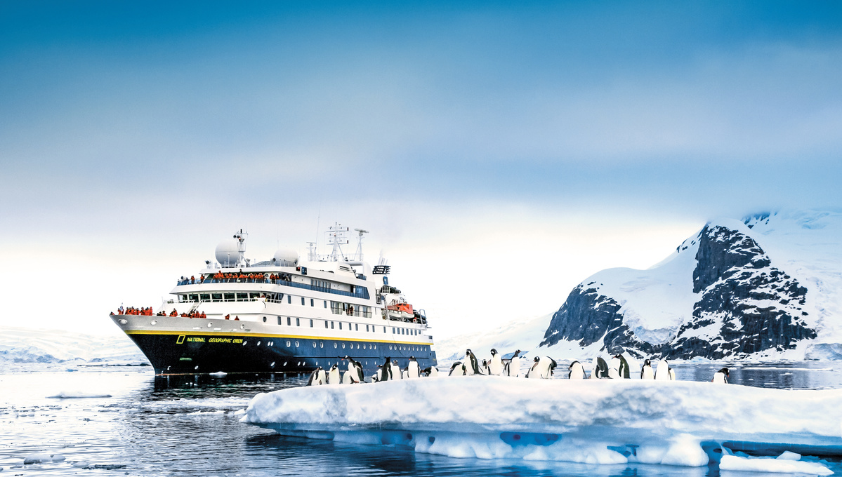 Lindblad Expeditions - National Geographic Orion in Antarctica