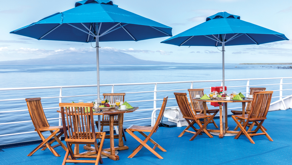 Lindblad Expeditions - National Geographic Endeavour II - Sun deck