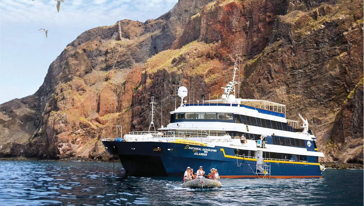 Lindblad Expeditions - National Geographic Islander in the Galapagos