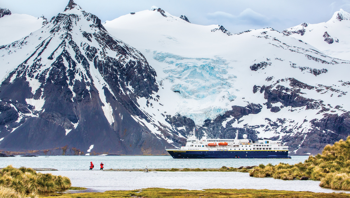 Lindblad Expeditions - National Geographic Explorer in South Georgia