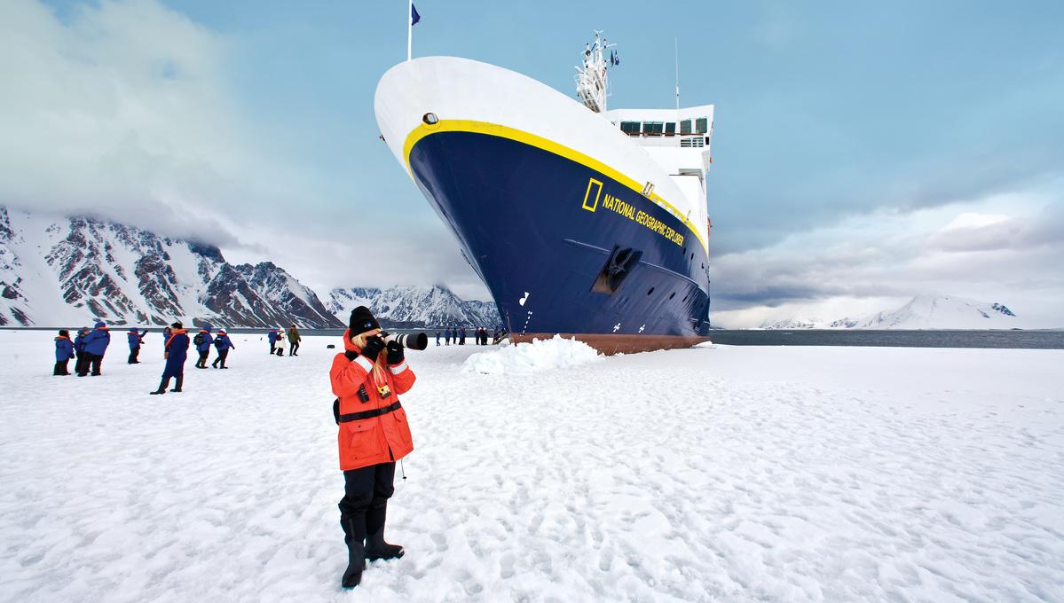 Lindblad Expeditions - National Geographic Explorer in Antarctica
