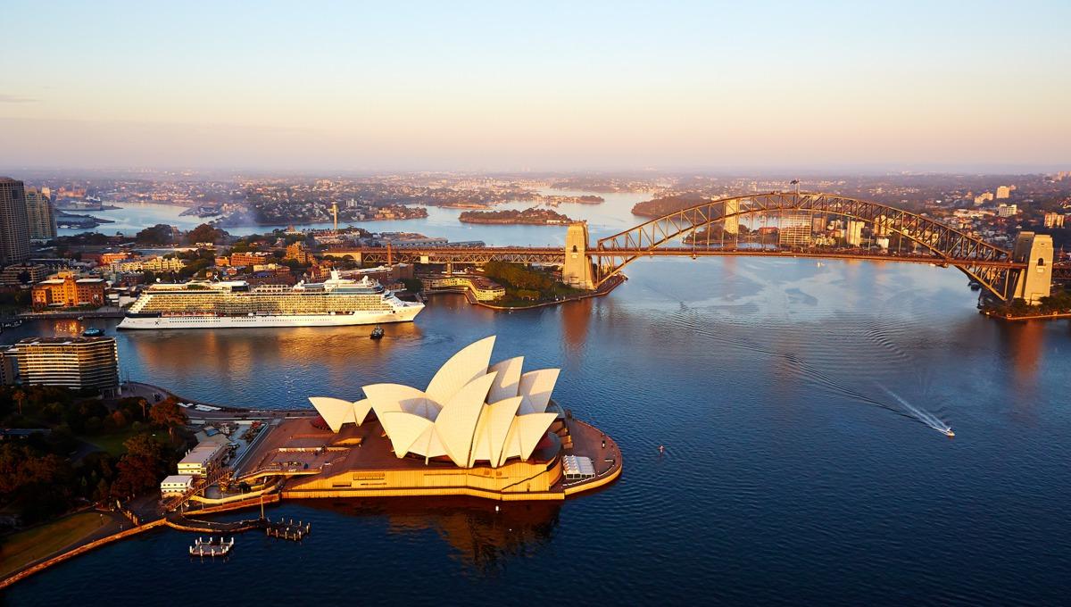 Celebrity Solstice in Sydney