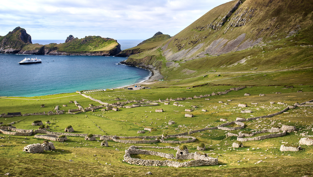 Silversea exploring the British Isles, one of the best options for a small ship cruise from a UK port
