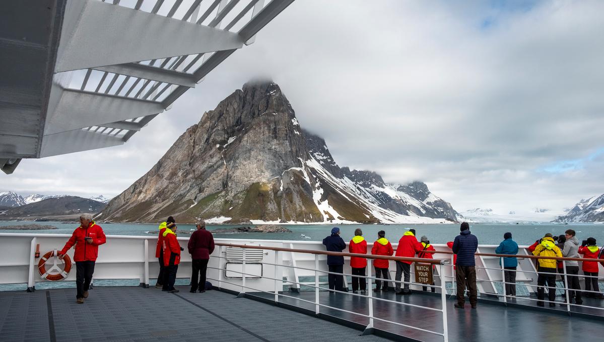 Hurtigruten - MS Fram in Svalbard