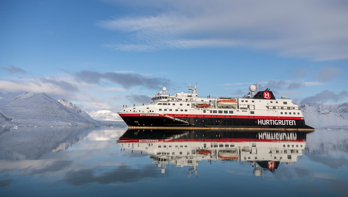 Hurtigruten - MS Spitsbergen in Svalbard