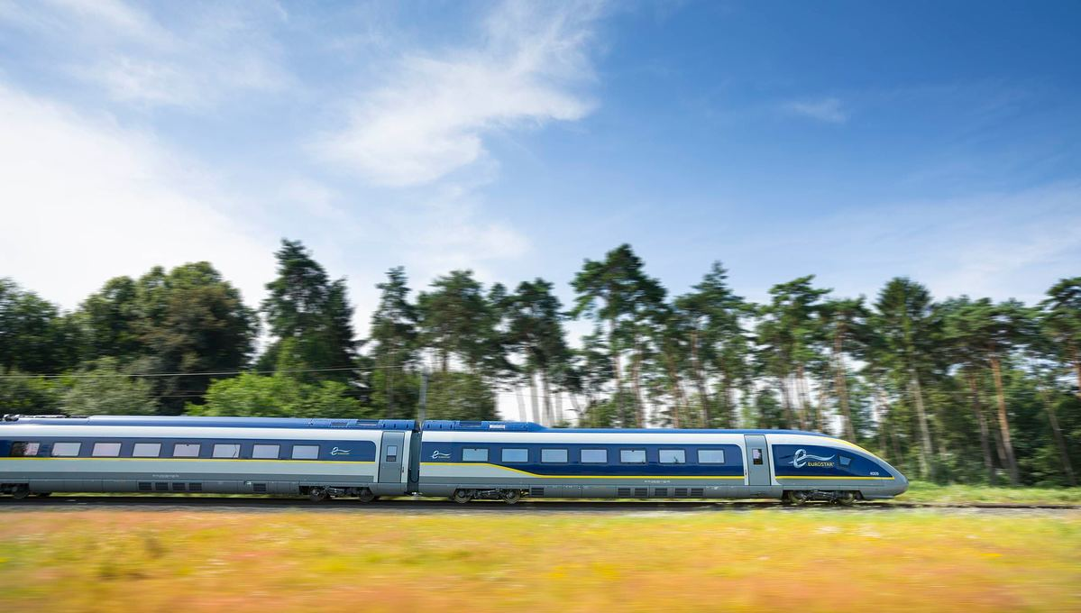 Take the Eurostar from London to join a European river cruise by rail