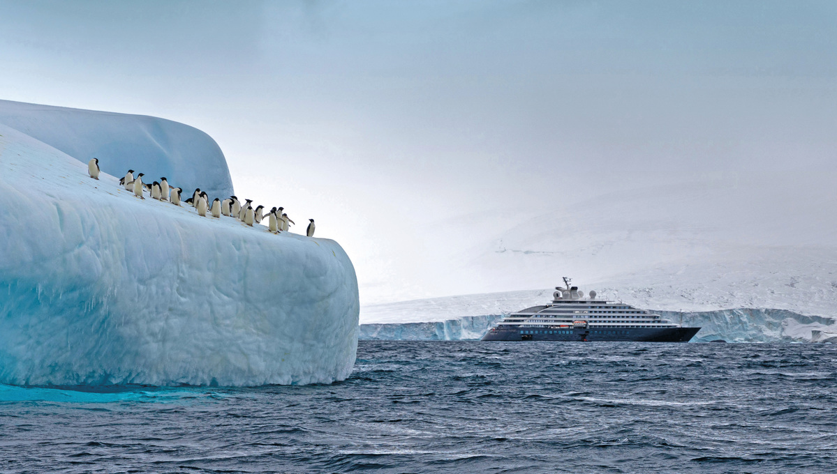 Scenic Eclipse, one of the best expedition cruise ships to choose in Antarctica