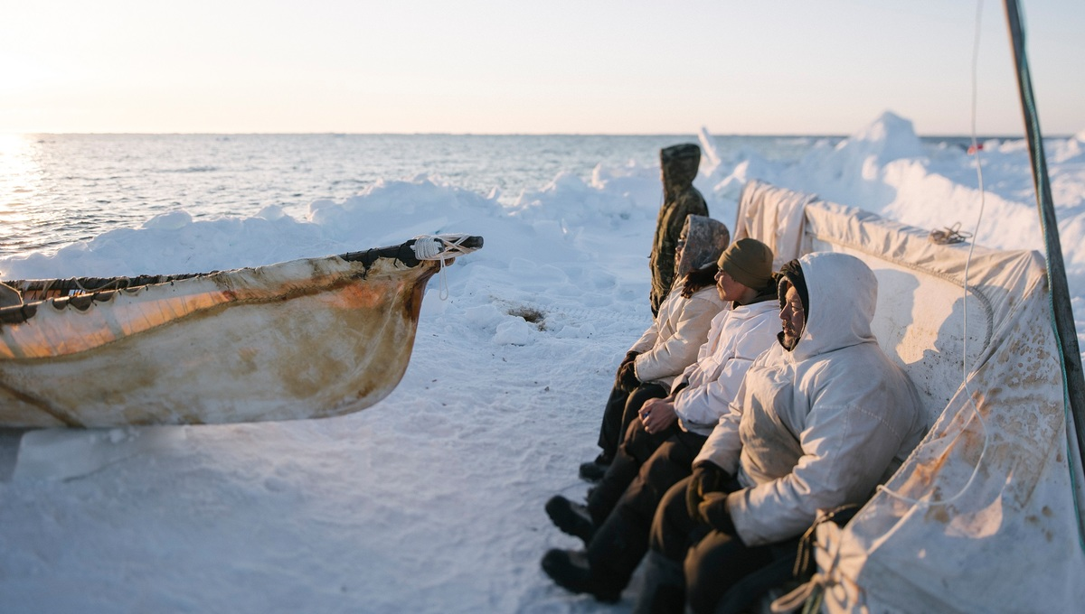 An image from the British Museum's Arctic: Culture and Climate exhibition