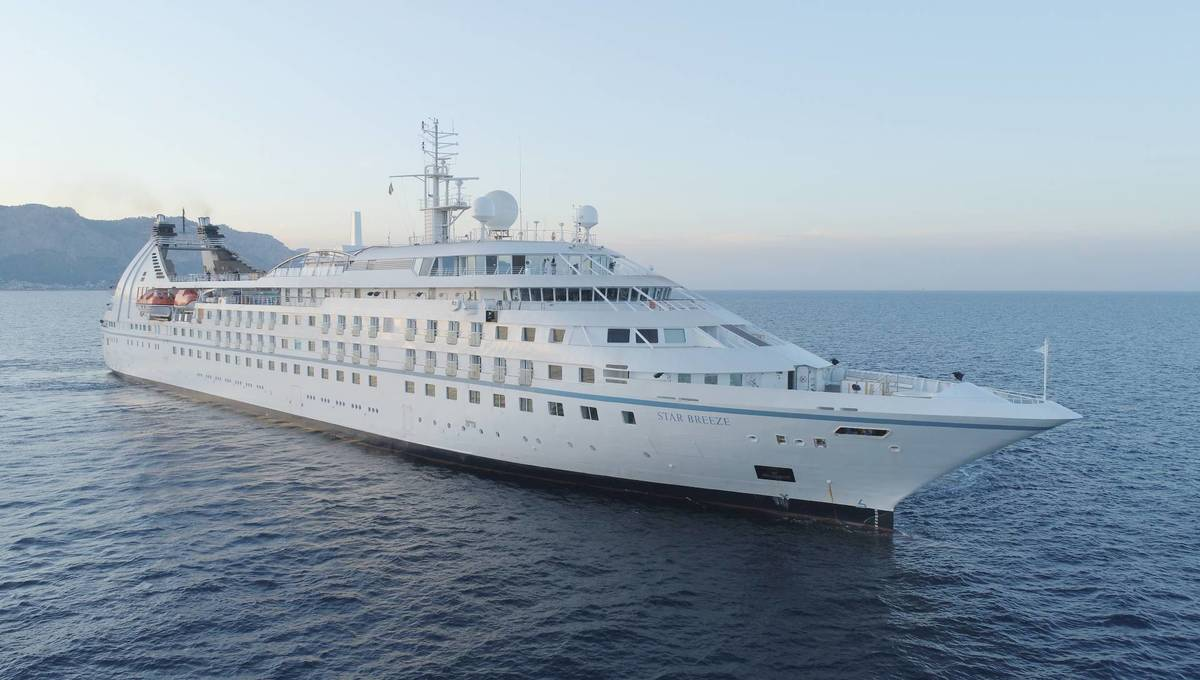 Windstar's recently 'stretched' Star Breeze, one of many cruising good news stories in 2020