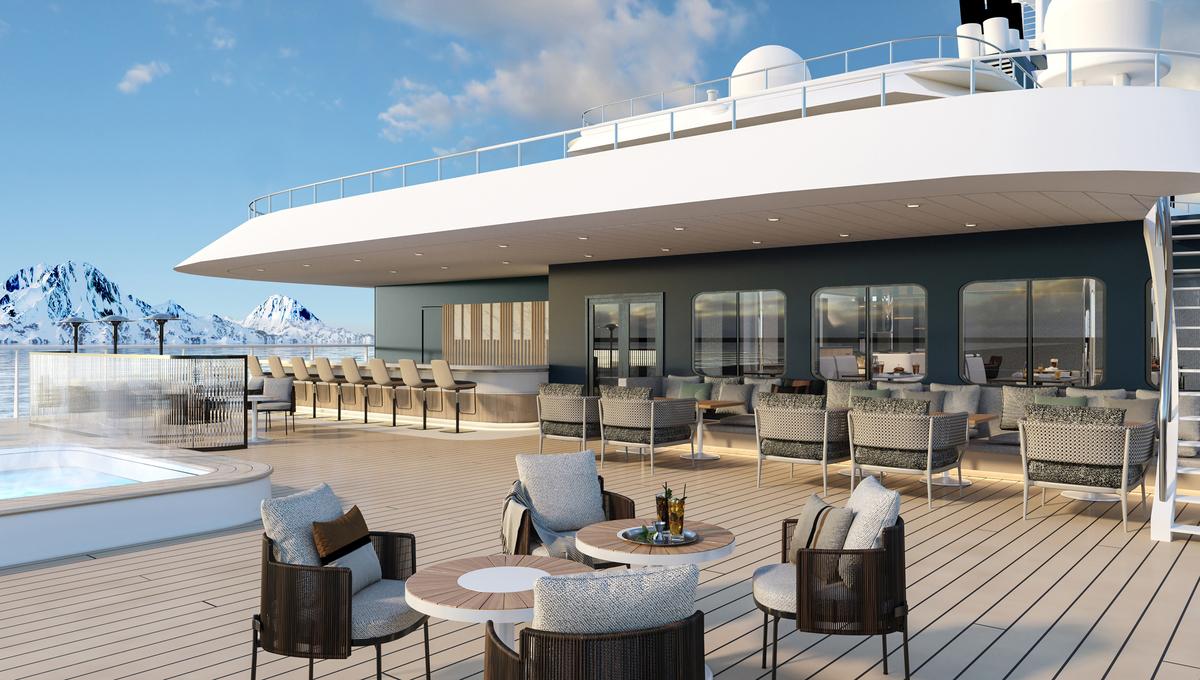 Swan Hellenic - SH Minerva - Club outdoor deck