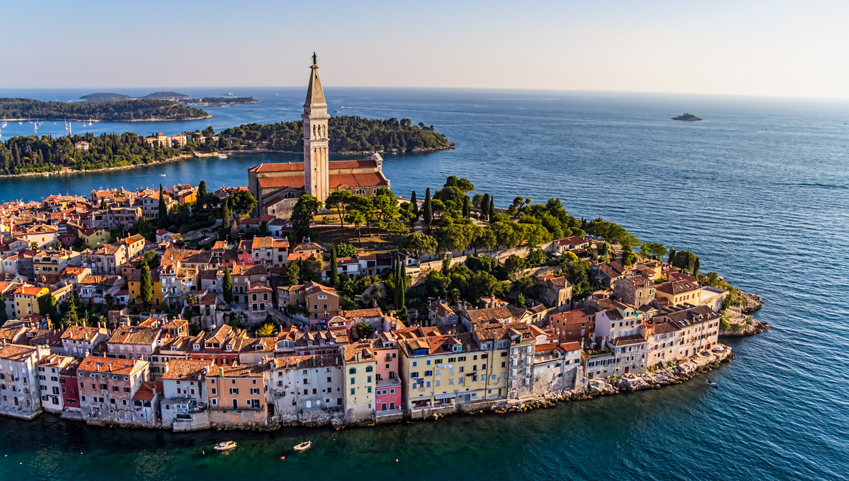 Rovinj, Croatia, one of the best small cruise ports in the Mediterranean
