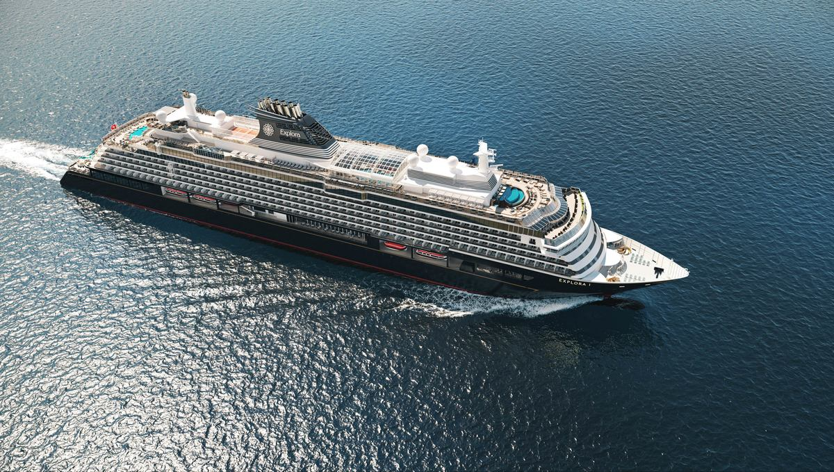 Artist's impression of the first ship from MSC's new luxury brand Explora Journeys