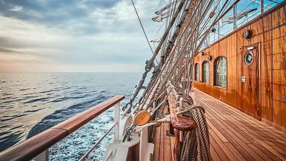 Sea Cloud Spirit deck